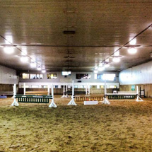 bellevue stables - 2 indoor areans